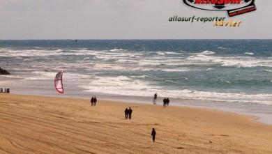 Wind report FR, Mimizan - Plage Sud (40) du 2008-04-14 16:00:00