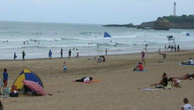 Surf report FR, Biarritz - Grande Plage (64) du 2008-07-24 12:00:00