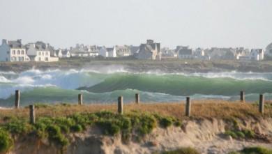 Surf report FR, La Torche (29) du 2008-06-25 20:00:00