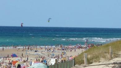 Wind report FR, Mimizan - Plage Sud (40) du 2008-07-14 17:00:00