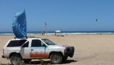 Wind report MA, Oued Cherrat (MA) du 2008-07-25 15:00:00