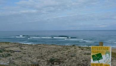 Surf report FR, Vieux Boucau (40) du 2008-08-04 09:00:00