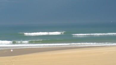 Surf report FR, Cap-Ferret - Plage de L'Horizon (33) du 2008-07-28 12:00:00