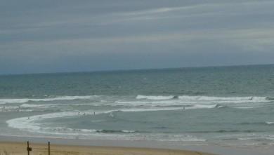 Surf report FR, Vieux Boucau (40) du 2008-08-07 14:00:00