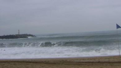 Surf report FR, Anglet La Barre (64) du 2008-08-14 13:00:00