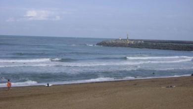 wave report FR, Anglet Les Cavaliers (64) du 2008-08-17 12:00:00