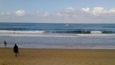 wave report FR, Capbreton - Le Santosha (40) du 2008-08-23 09:00:00