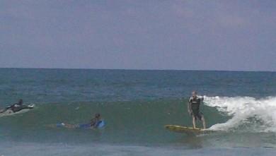 Surf report FR, Vieux Boucau (40) du 2008-08-24 12:00:00