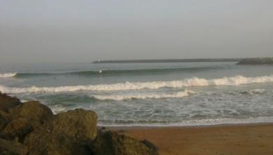 Surf report FR, Anglet La Barre (64) du 2008-08-27 07:00:00