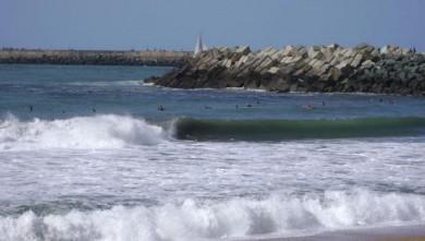 Surf report FR, Anglet La Barre (64) du 2008-09-07 16:00:00