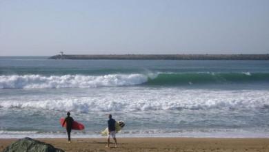 Surf report FR, Anglet La Barre (64) du 2008-09-10 12:00:00