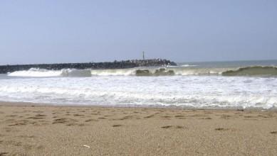 Surf report FR, Anglet La Barre (64) du 2008-09-15 13:00:00