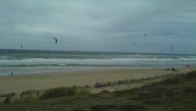 Wind report FR, Lacanau Océan - La Nord (33) du 2008-10-05 18:00:00