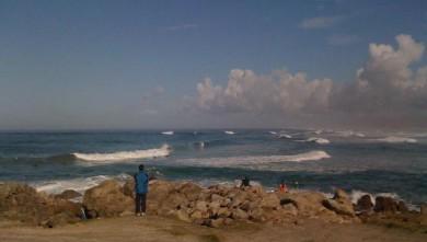 Surf report FR, La Torche (29) du 2008-10-01 11:00:00