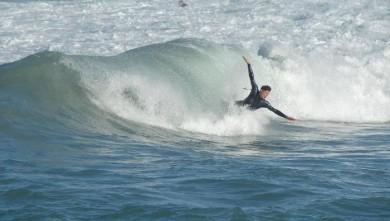 Surf report FR, La Torche (29) du 2008-10-09 11:00:00