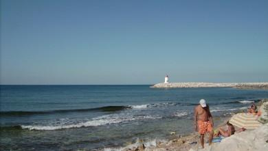 Surf report FR, Sausset les Pins - Plage du Port (13) du 2008-08-02 12:00:00