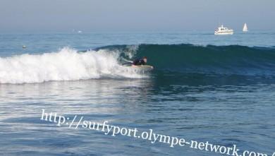 Surf report FR, Yport (76) du 2008-10-11 15:00:00
