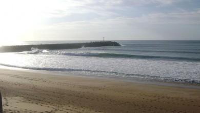Surf report FR, Anglet La Barre (64) du 2008-10-23 17:00:00