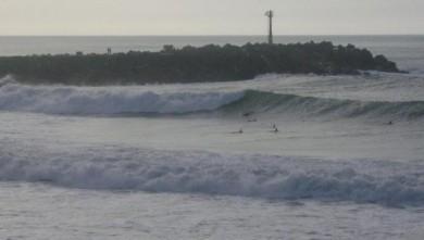 Surf report FR, Anglet La Barre (64) du 2008-10-24 17:00:00