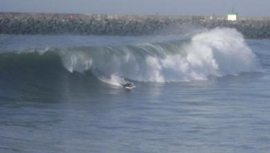 Surf report FR, Anglet La Barre (64) du 2008-10-26 13:00:00