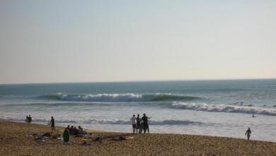 Surf report FR, Bud Bud (85) du 2008-10-25 14:00:00