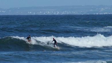 Surf report FR, La Torche (29) du 2008-08-04 12:00:00