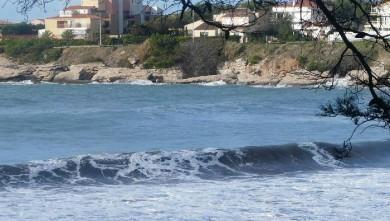 Surf report FR, Plage du Verdon (13) du 2008-11-03 09:00:00