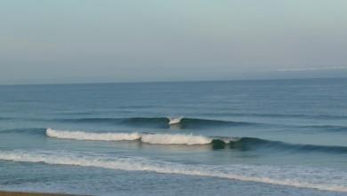 Surf report FR, Cap-Ferret - Plage de L'Horizon (33) du 2008-08-05 12:00:00