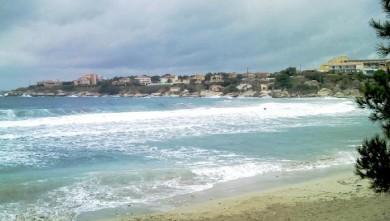 Surf report FR, L'Arquet (13) du 2008-11-29 15:00:00