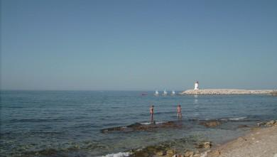 Surf report FR, Sausset les Pins - Plage du Port (13) du 2008-08-06 12:00:00