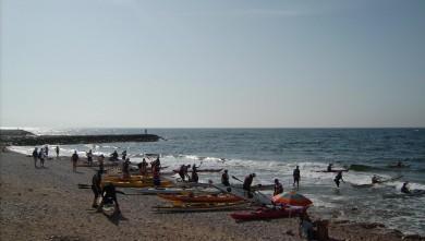 Surf report FR, Sausset les Pins - Plage du Port (13) du 2008-08-07 12:00:00