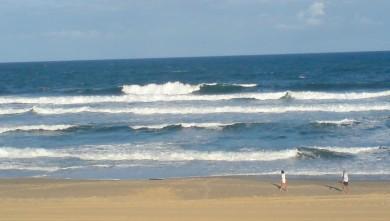 wave report FR, Cap-Ferret - Plage de L'Horizon (33) du 2008-08-08 12:00:00