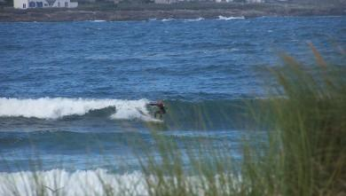 Surf report FR, Pors Carn (29) du 2008-08-08 12:00:00