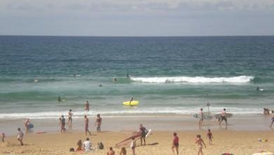 Surf report FR, Lacanau Océan - La Nord (33) du 2008-08-10 12:00:00
