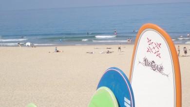 Surf report FR, Seignosse - Les Casernes (40) du 2008-08-10 12:00:00
