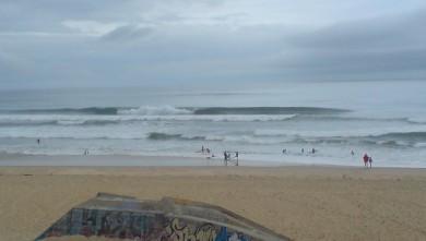 Surf report FR, Cap-Ferret - Plage de L'Horizon (33) du 2008-08-11 12:00:00