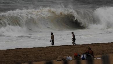 Surf report FR, Seignosse - Les Casernes (40) du 2008-08-11 12:00:00