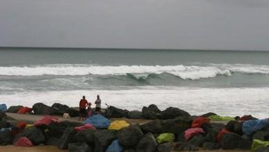 Surf report FR, Anglet Sables d'Or (64) du 2008-08-12 12:00:00
