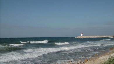 wave report FR, Sausset les Pins - Plage du Port (13) du 2008-08-12 12:00:00