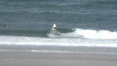 Surf report FR, Lacanau Océan - La Nord (33) du 2008-08-15 12:00:00