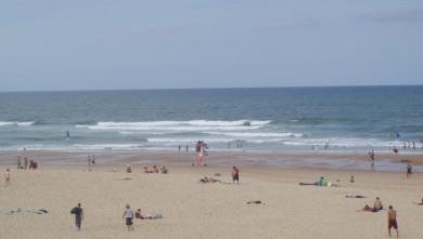 Surf report FR, Seignosse - Les Casernes (40) du 2008-08-17 12:00:00