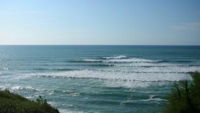 Surf report FR, Guethary Parlementia (64) du 2008-08-20 12:00:00