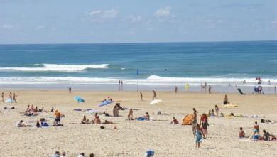 Surf report FR, Seignosse - Les Casernes (40) du 2008-08-23 12:00:00