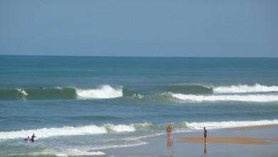 Surf report FR, Cap-Ferret - Plage de L'Horizon (33) du 2008-08-26 12:00:00