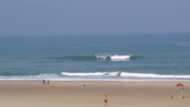 Surf report FR, Seignosse - Les Casernes (40) du 2008-08-29 12:00:00