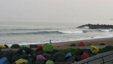 Surf report FR, Anglet Sables d'Or (64) du 2008-08-30 12:00:00