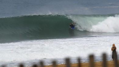 Surf report FR, Hossegor - La Gravière (40) du 2008-09-04 12:00:00