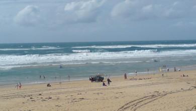 Surf report FR, Cap-Ferret - Plage de L'Horizon (33) du 2008-09-06 12:00:00