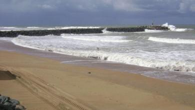 Surf report FR, Anglet La Barre (64) du 2008-09-13 12:00:00