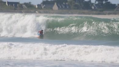 Surf report FR, Pors Carn (29) du 2008-09-13 12:00:00
